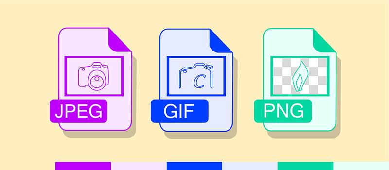 formatos jpeg png gif en tu blog