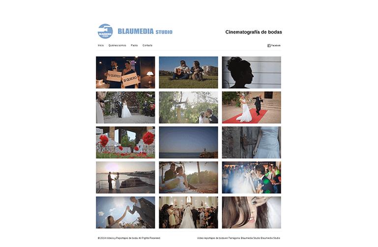 diseño web tarragona blaumedia