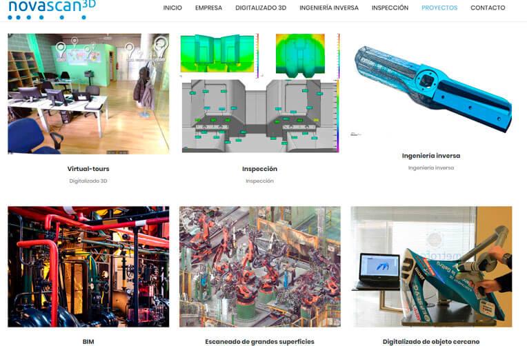 diseño web industrial vilanova