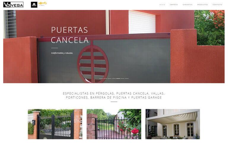 diseño web cubelles vega sl