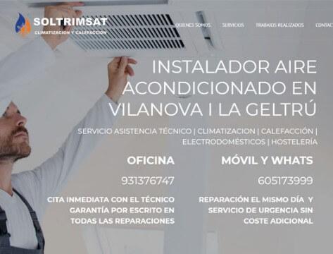 diseño web instaladores vilanova