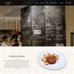 diseño web lanima bistro