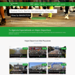 diseño web maratones SportPlay