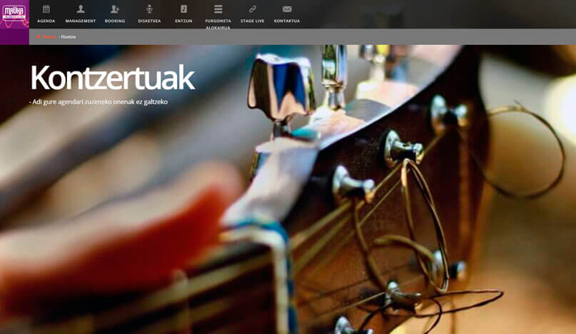 diseño web mauka