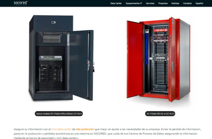 diseño web sitges seguridad TI IT