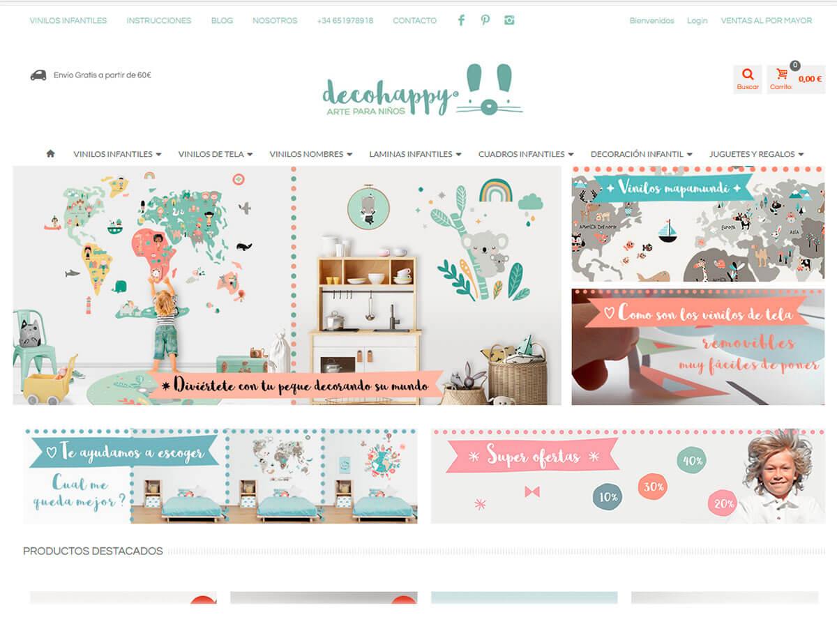 diseño web sitges decohappy