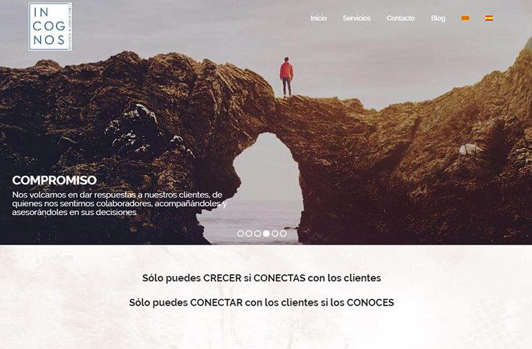 diseño web vilanova para incognos
