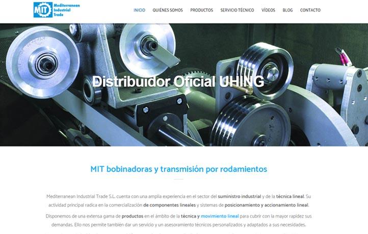 diseño web vilanova industria