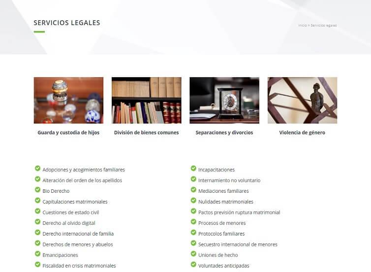 diseño web barcelona abogados