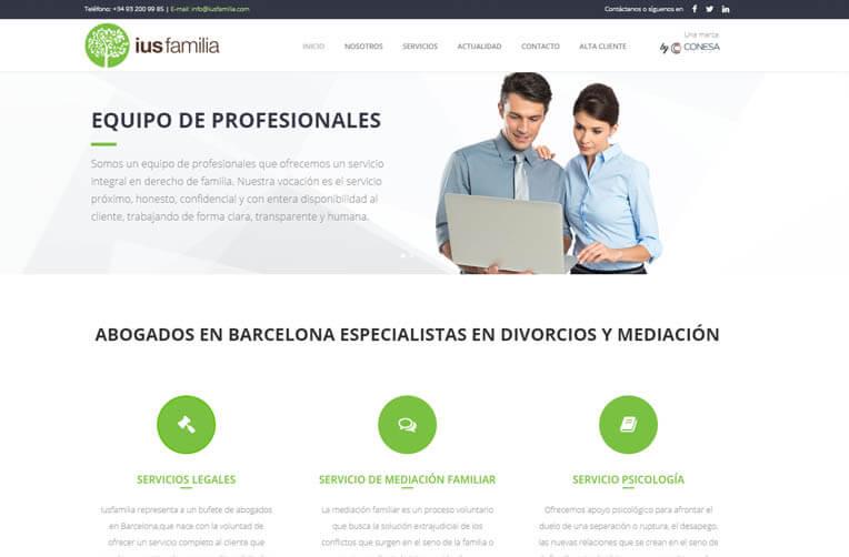 diseño web barcelona abogado