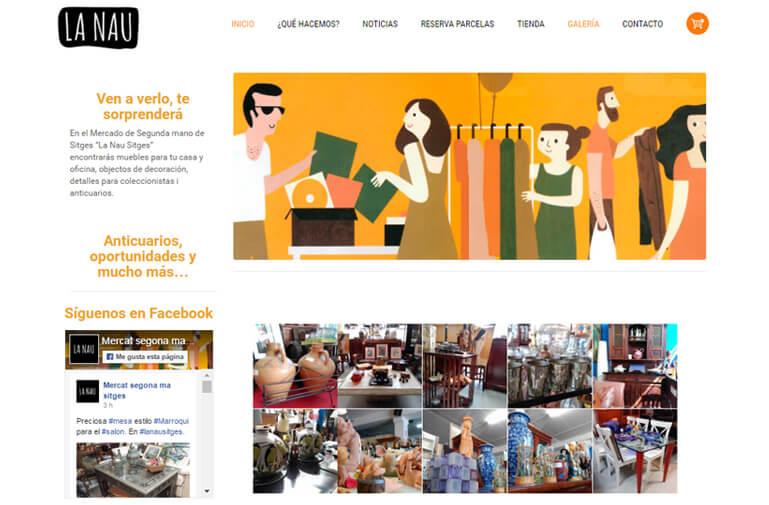 diseño web la nau vilanova