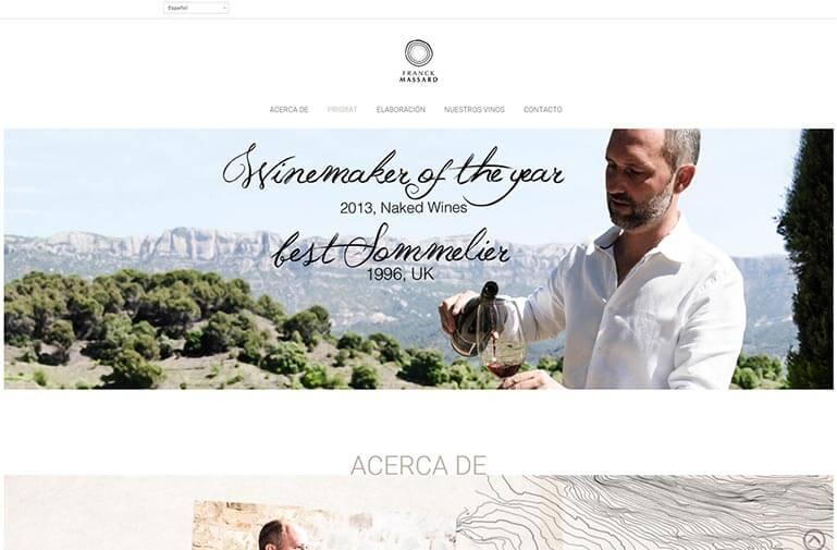 pagina web frank massard