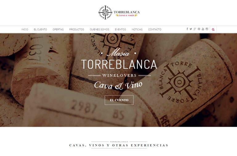 diseño web cava y vino