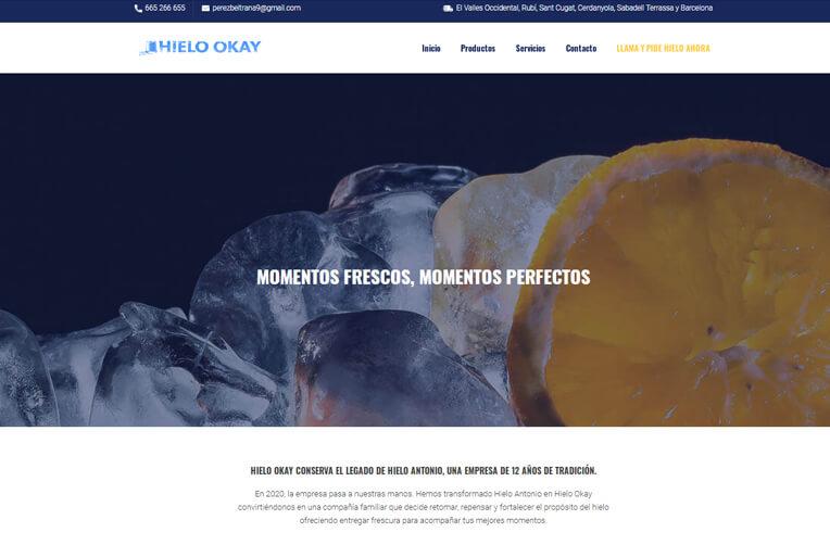 diseño web Rubí