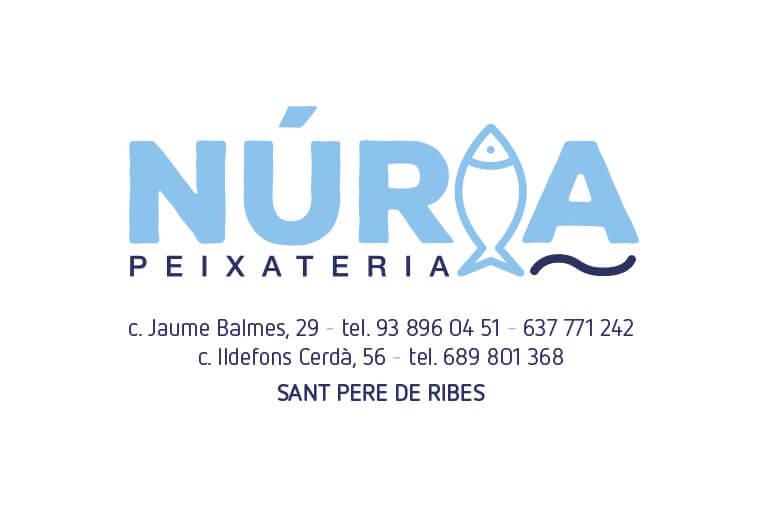 diseño grafico Sant Pere de Ribes Peixateria Nuria