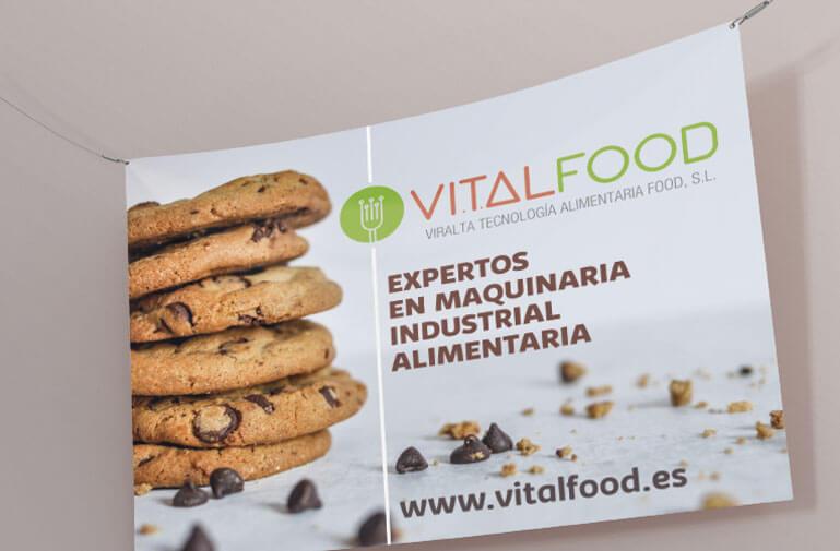 diseño grafico Vilanova maquinaria industrial alimentaria